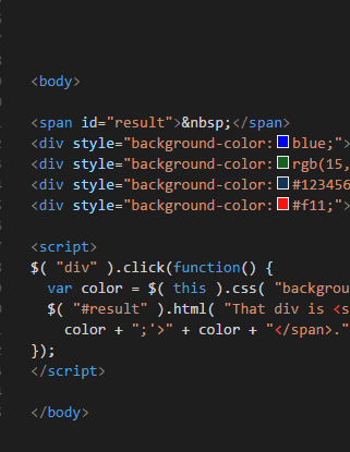 Wordpress Design: Example of jQuery code
